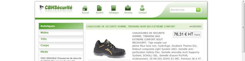 EPI chaussure CBHS
