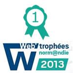 Web'Trophées : Les meilleurs sites web de Normandie récompensés